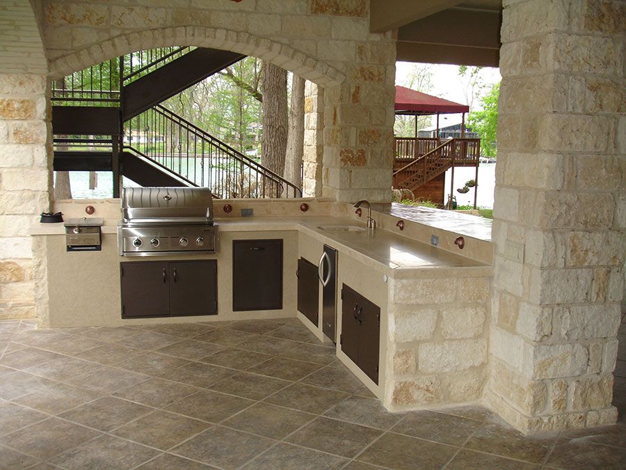 Outdoor Kitchen in San Antonio - Alamo City Storm Restoration - San Antonio  Roofing and Remodeling